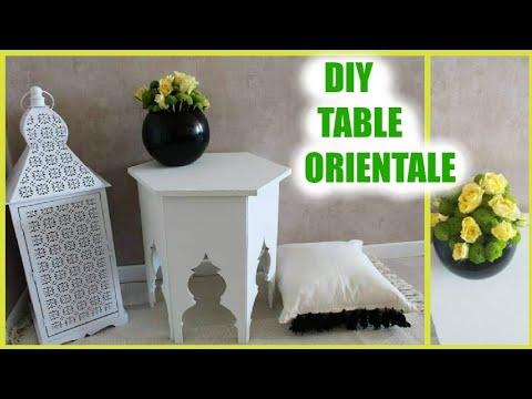 Deco Deco Petite Table Orientale Youtube