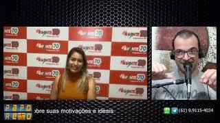 Programa PAPO RETO - Entrevista a pré-candidata a vareadora de Valparaíso, Dra. Marina Mota (Avante)