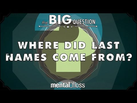 Where Did Last Names Come From? - Big Questions (Ep. 8)