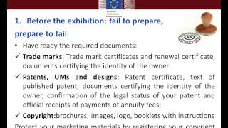 Best Practices for EU SMEs Participating in a Machine Tools Exhibition in China   M