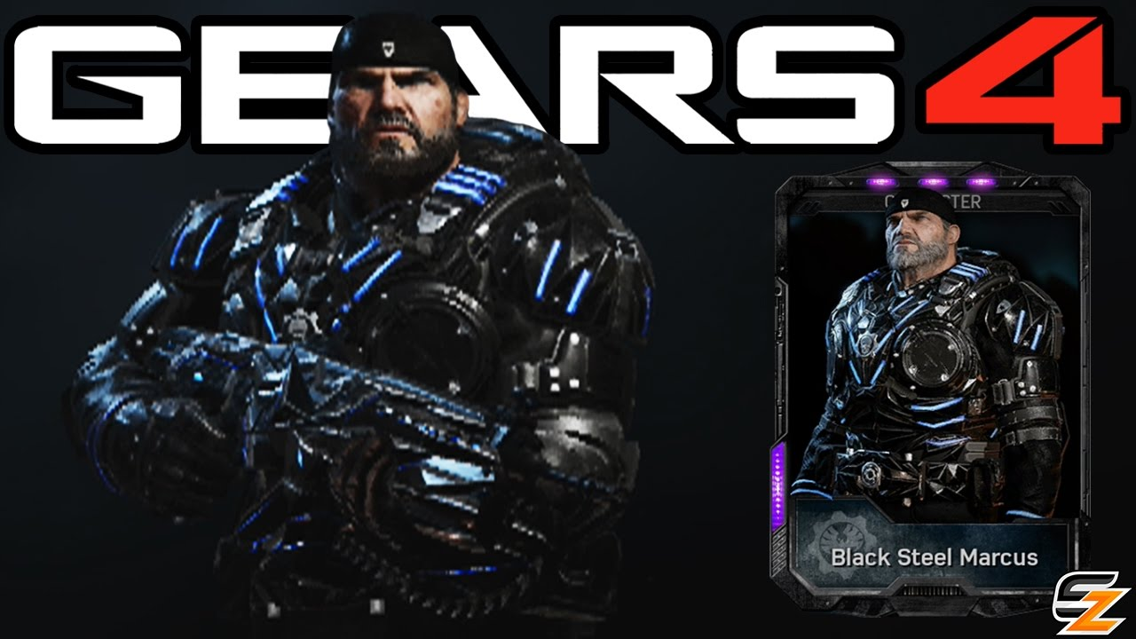 Gears Of War 4 Black Steel Marcus Multiplayer Gameplay