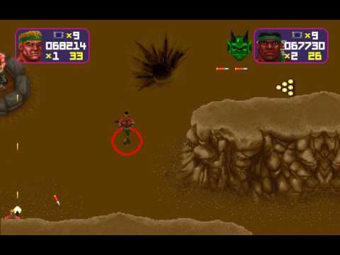 Total Carnage arcade 2 player Netplay 60fps