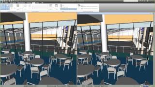 AVysotskiy.com - Видеоуроки Navisworks - 2 - Интерфейс, живая работа
