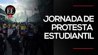 Estudiante perdió un ojo durante las protestas estudiantiles en Popayán | El Espectador