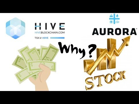 Insider buy 2 million shares of hive blockchain! Why Aurora stock rally today?