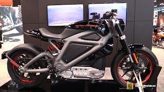 2015 Harley-Davidson LiveWire Electric Bike - Walkaround - 2014 New York Motorcycle Show