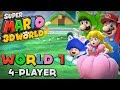Super Mario 3D World - World 1 (4-Player)