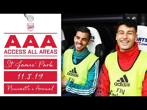 Access All Areas | Newcastle v Arsenal | Pepe, Ceballos & Martinelli make their PL debuts
