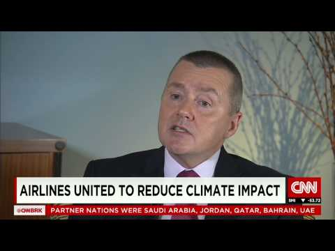 Willie Walsh, IAG Chief Executive, talks to CNN's Richard Quest on climate change.