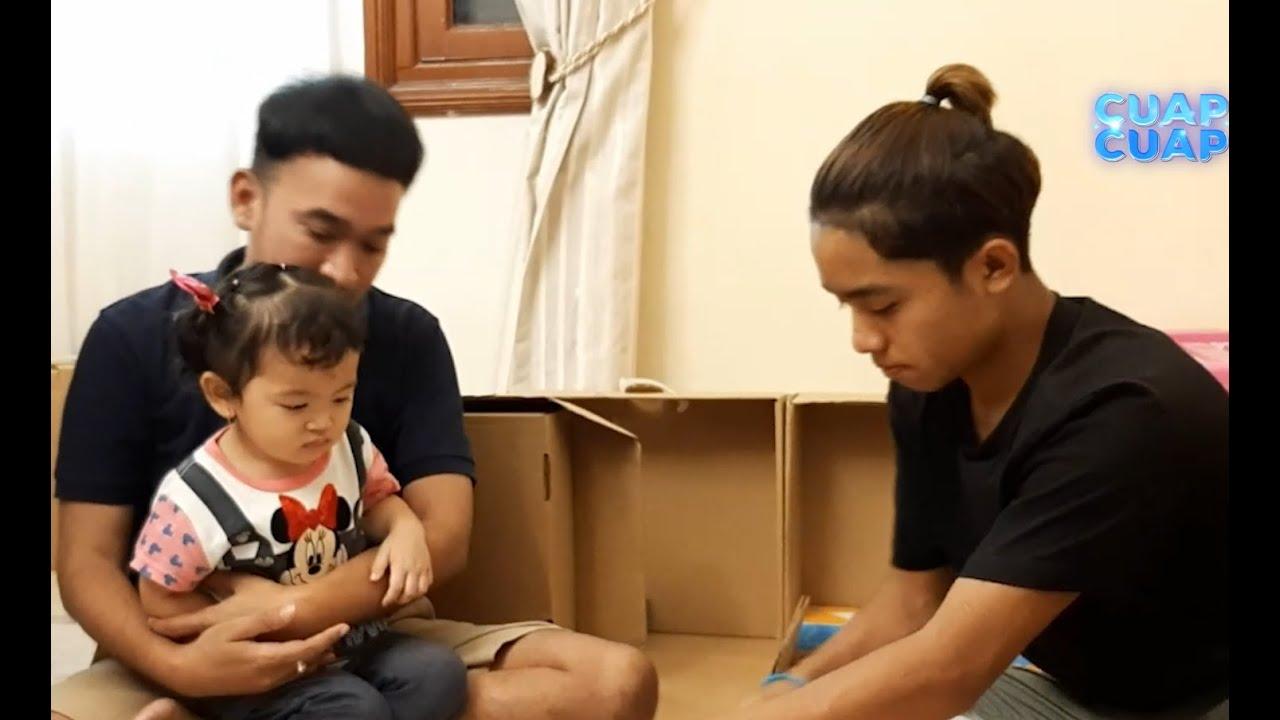 ONYO-JEJEN & FITO KARU BANTU AYAH RUBEN PACKING THABENIA CAKE - CUAP CUAP SORE