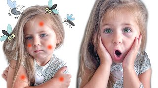 Go Away! Bad Mosquitoes | Kids Safety Tips | Nursery Rhymes | Kids Songs | Sofia vs mosquitoes |