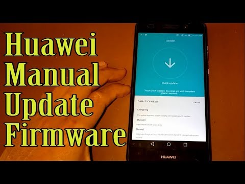 Huawei Manual Update [ For All Huawei ]