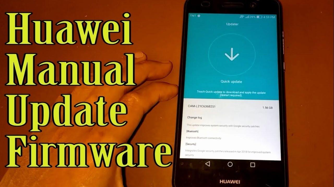 Huawei Manual Update [ For all Huawei ]