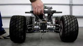 Home Made Giant Scale Rc Car #9, Improved Cantilever Advantage.