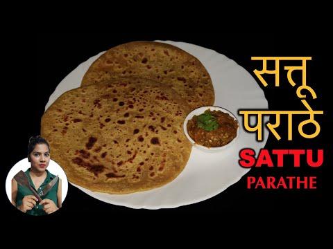 sattu-paratha-recipe-video---sattu-stuffed-paratha-recipe,-चटपटा-सत्तू-पराठा,-relish-with-ritu