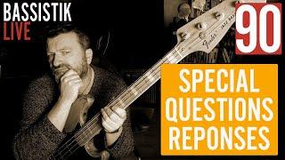 Bassistik Live #90 - Comment devenir bassiste pro en 10 jours? Deviens génial!
