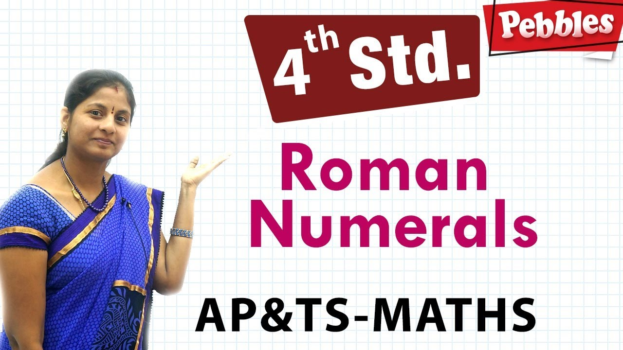 medium resolution of Roman numerals   Class 4 Maths in T.M   Easy maths for kids   4th class  syllabus - YouTube