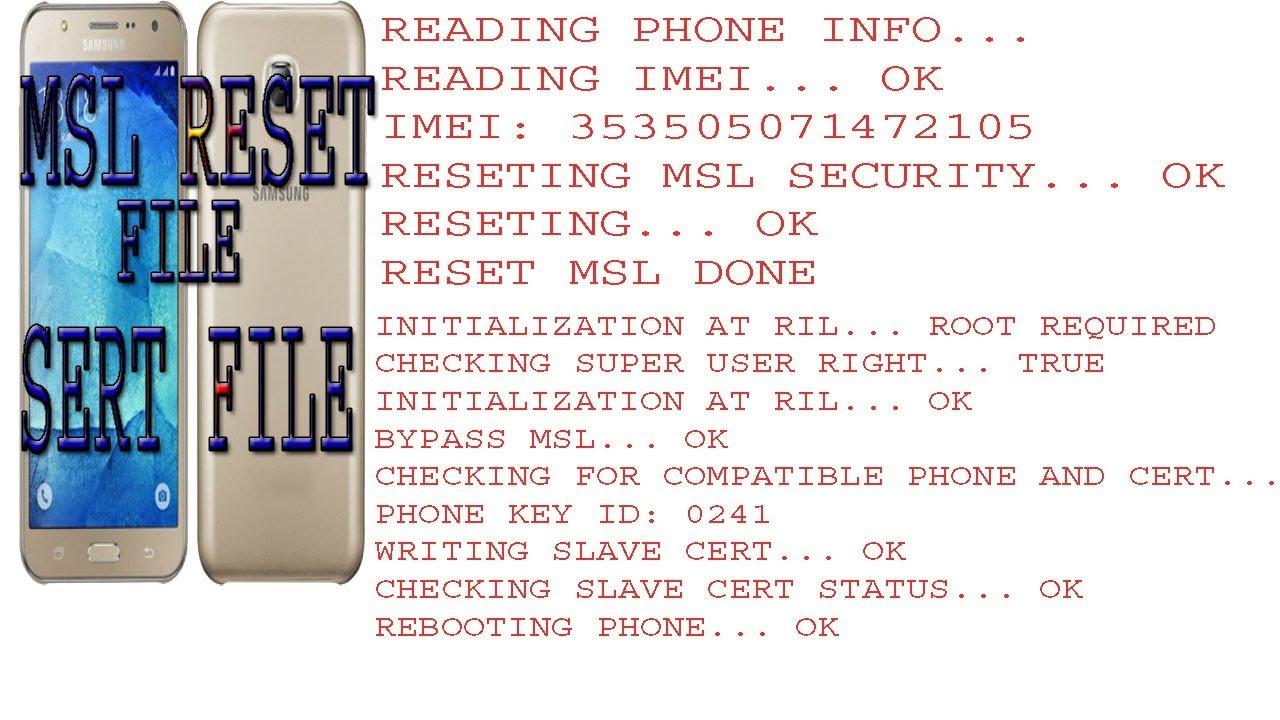 samsung j500h 6 0 1 msl reset file/cert file 100% ok file by mbile software  info
