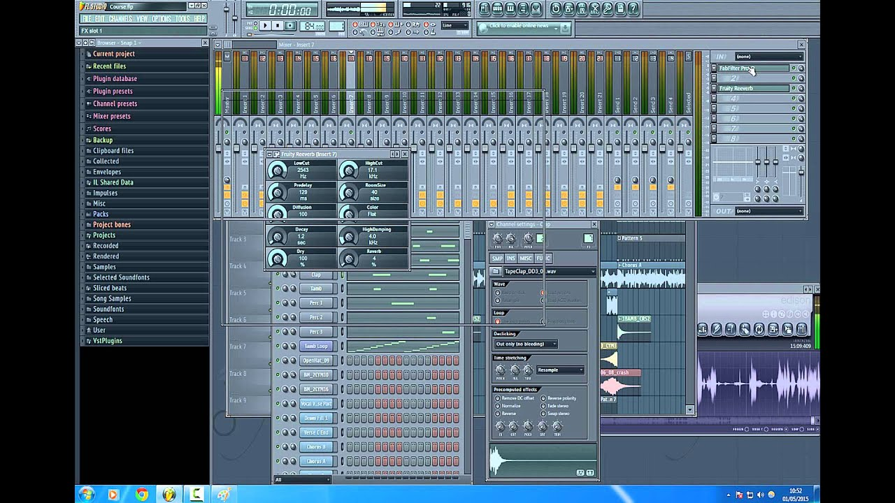 how to create drums fl studio