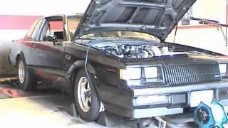 71mm Turbo Buick Grand National 660 rwhp Pump Gas Dyno Pulls