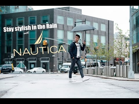 Embrace The Rain with this Nautica Rain Jacket