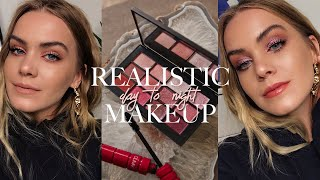 Realistic/Easy DAY-TO-NIGHT Makeup: Blown Out, Textural Berry Tones | Mariah Leonard