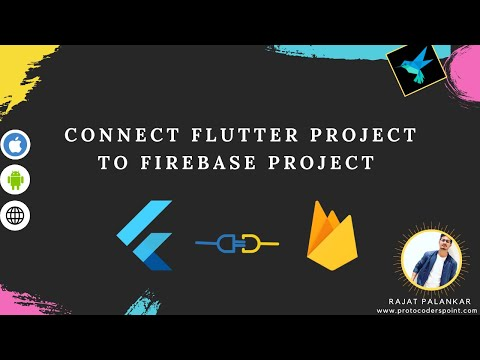 Connect flutter project to firebase console - Android