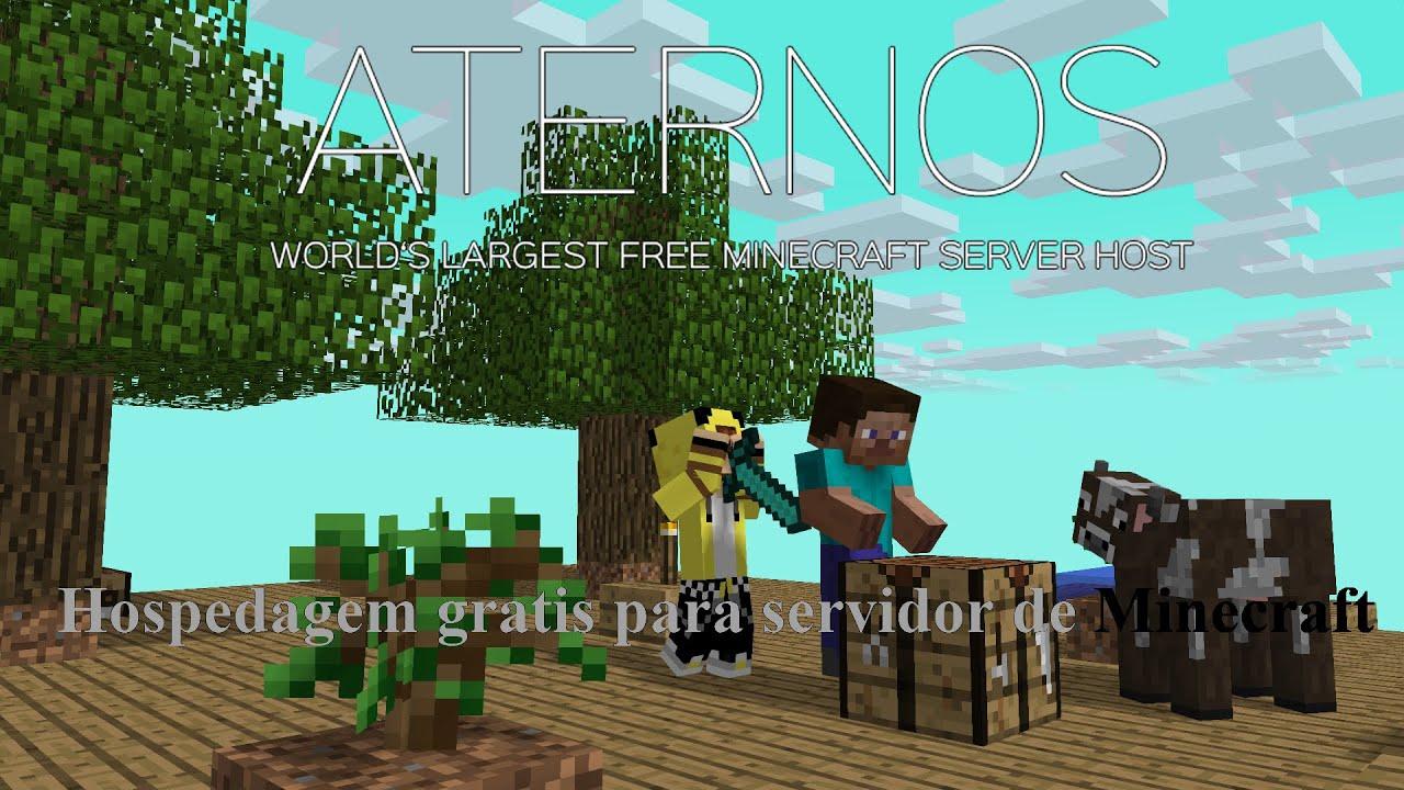 [Aternos] Host grátis Minecraft Server com Plugins [2015 ...