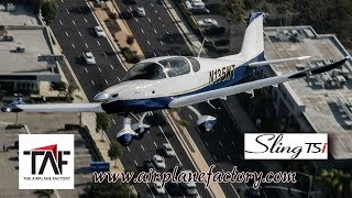 Sling TSi, all metal, 4 seat experimental aircraft, Rotax 915, aircraft review, Airplane Factory