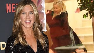 Jennifer Aniston's 50th Birthday Was Wild! From Brad Pitt's Surprise Cameo to Reese's Fall!