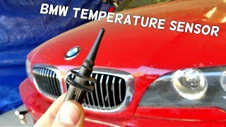 HOW TO REPLACE TEMPERATURE SENSOR ON BMW