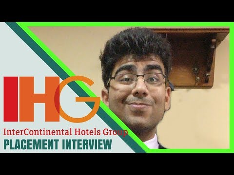 Hotel Management Jobs | IHG Interview Experience | Questions and Answers