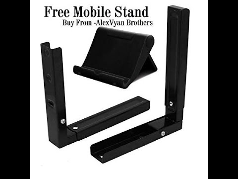 OTG WALL MOUNT STAND| Universal Wall mount stand| Adjustable wall mount under 500/-| OTG stand