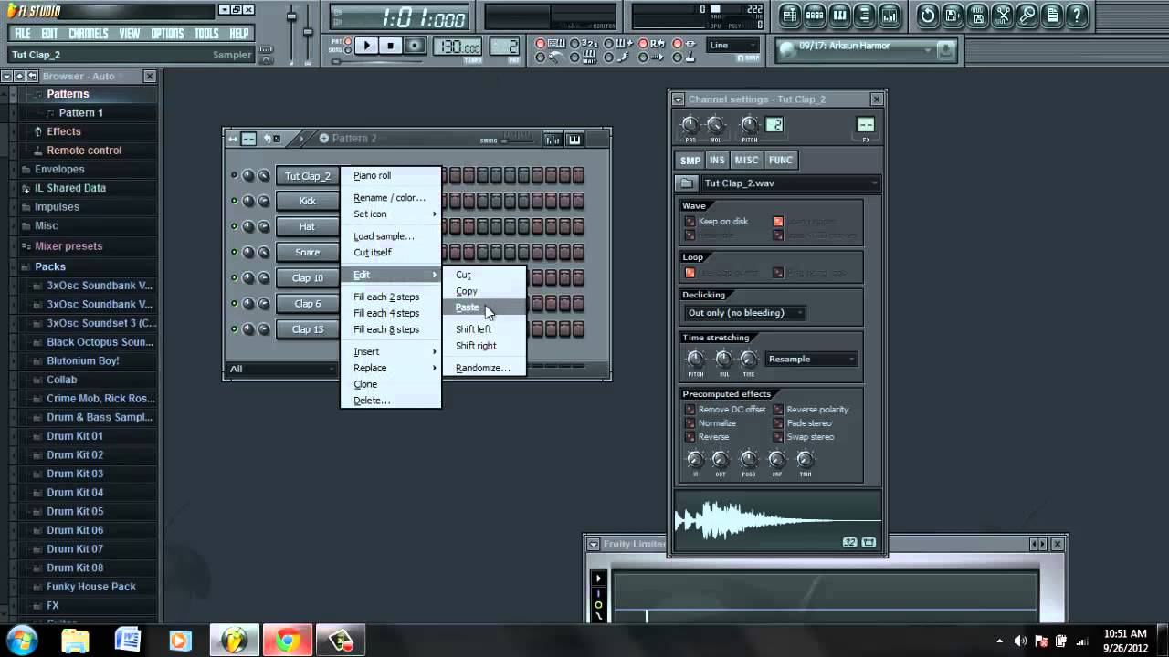 How To Make A Good House Clap FL Studio - YouTube