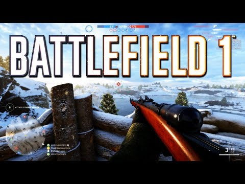 Battlefield 1: New Map Albion and New Guns Gameplay! In The Name of the Tsar DLC
