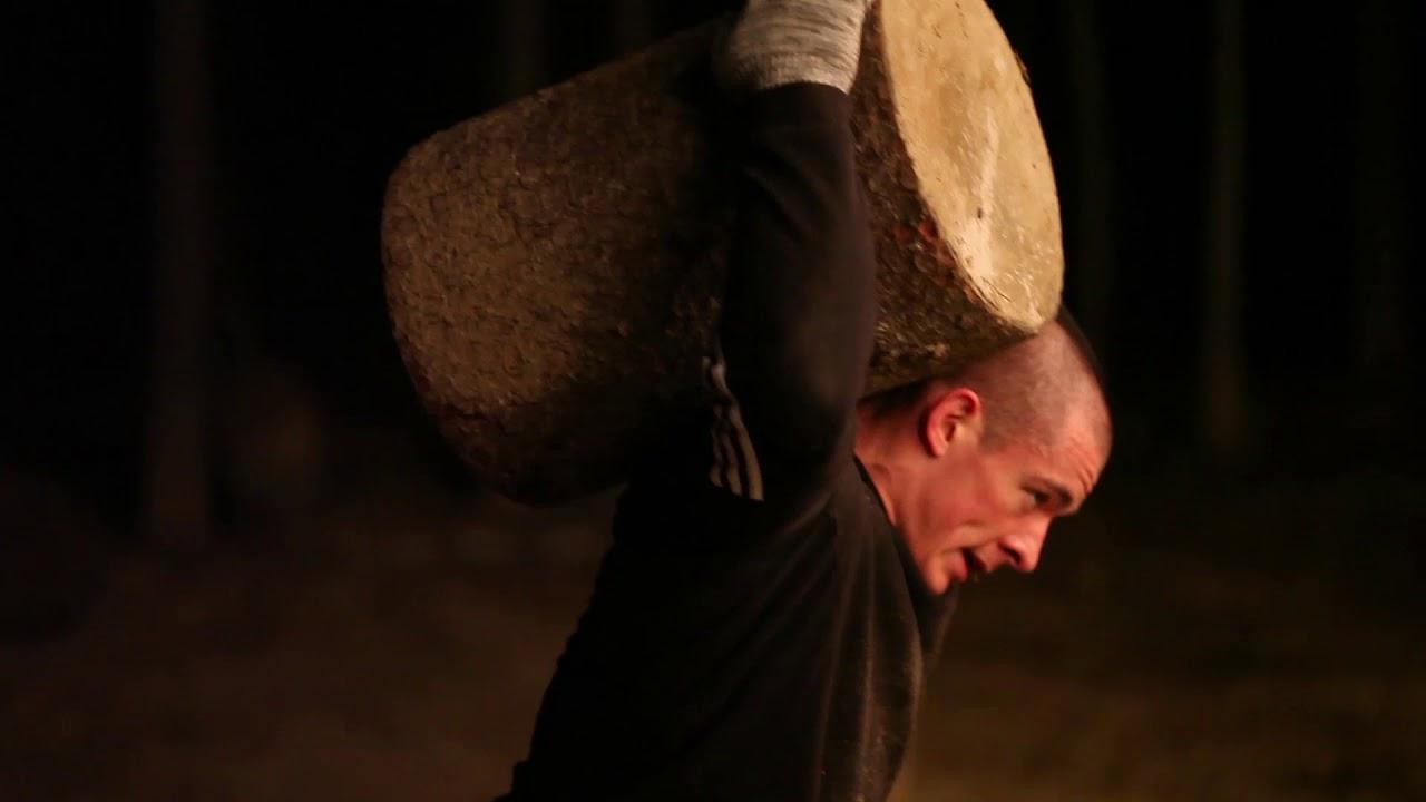 Виктор Блуд -  Тренировка В Лесу в Рамках Проекта Crossfit Travel