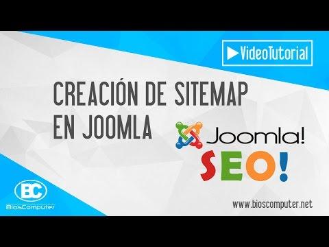 Crear Sitemap En Joomla - Mejorar Posicionamiento Web ▶ BiosComputer