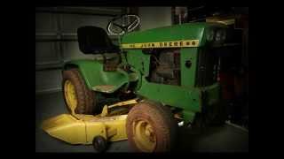 The John Deere 140 Garden Tractor 1968 - 1974