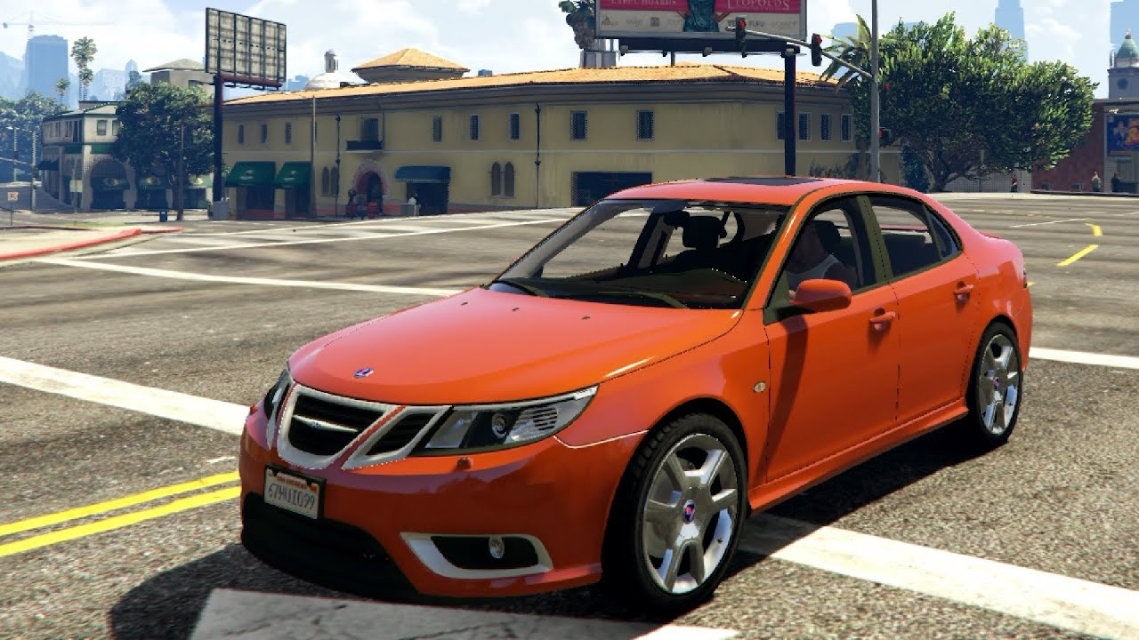 saab 9 3 turbo x gta v youtube. Black Bedroom Furniture Sets. Home Design Ideas