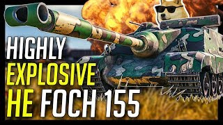 ► HE Foch 155 any Good? - World of Tanks AMX 50 Foch 155 HE Gameplay