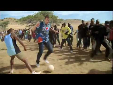 NEW Pepsi Ad. World Cup 2010 (Oh Africa - Akon) Messi, Henry, Kaka, Lampard, Arshavin, Drogba (HD)