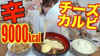 【MUKBANG】 Spicy Galbi With Plenty Of Cheese, 5Kg 9000kcal[Easy Shopping With VANDLE CARD] [Click CC]