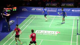 Cai Yun/Lu Kai vs V Shem Goh/Wee Kiong Tan | MD F Match 5 - Swiss Open 2015