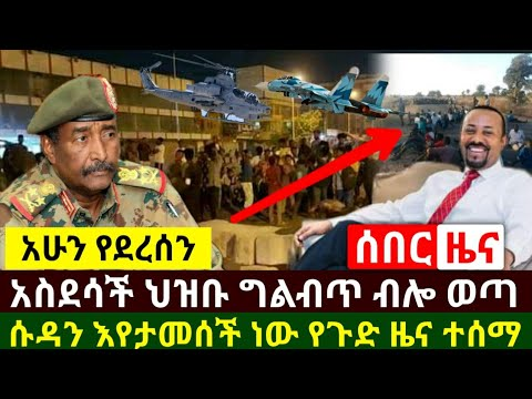 Ethiopia:ሰበር | አስደሳች የድል ዜና ህዝቡ ህልብጥ ብሎ ወጣ ሱዳን የእጇን አገኘች እየታመሰች ነው| በኢትዮጵያ የ9 አመት ልጅ | Abel Birhanu