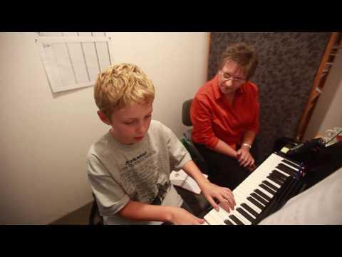 Piano class at North Shore Music Education Centre (MEC)