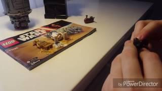 Обзор на набор Lego Star wars спасательная капсула дроидов