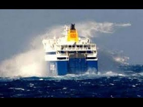 Bodrum - Kos ferry storm danger of sinking