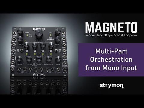 Magneto - Four Head dTape Echo & Looper Eurorack Module - Strymon