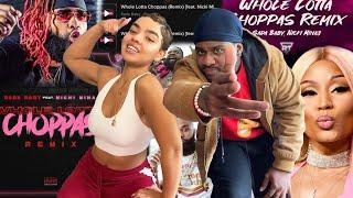 NICKI BODIED THE REMIX!!!   Sada Baby - Whole Lotta Choppas [Remix] ft. Nicki Minaj   REACTION