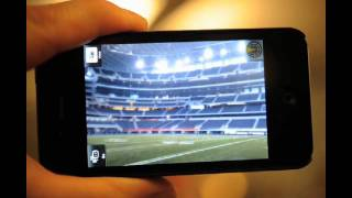 Super Bowl augmented reality from USA TODAY